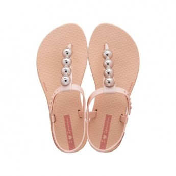 CLASS GLAM pink flat finger sandals for girl