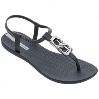 CLASS CHIC grey flat finger sandals for woman