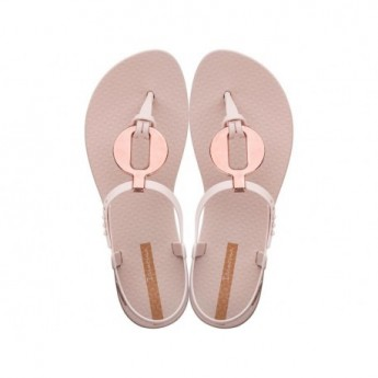 CLASS VITTA pink flat finger sandals for woman