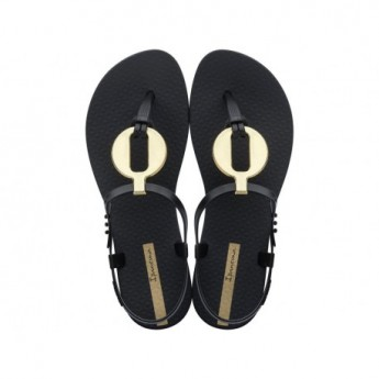 CLASS VITTA black flat finger sandals for woman