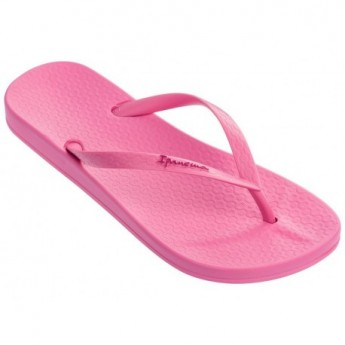 ANAT COLORS pink flat finger flip flops for woman