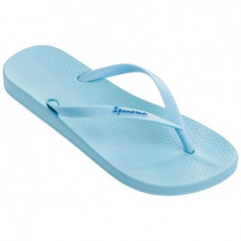 ANAT COLORS blue flat finger flip flops for woman