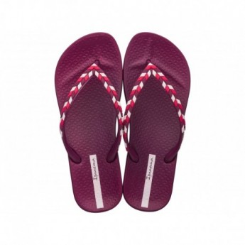 ANAT LOVELY X pink flat finger flip flops for woman
