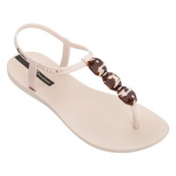 CHARM VII beige flat finger sandals for woman