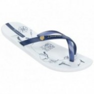 IPANEMA MADE IN BRAZIL FEM 23887 BLANCO AZUL