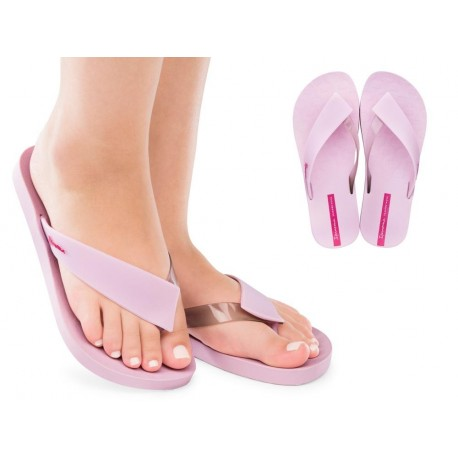 HIT lila flat finger sandals for woman