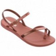 FASHION SAND VIII pink flat finger sandals for woman