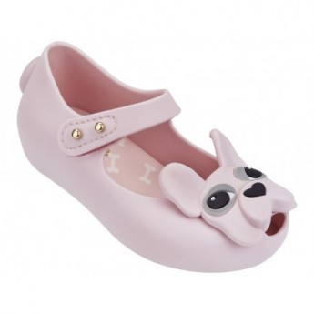 ULTRAGIRL DOG pink flat ballet flats for baby
