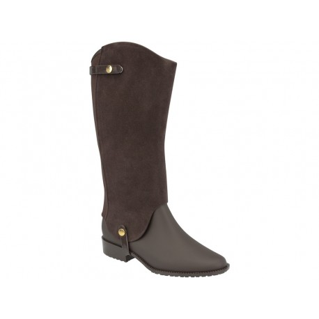 MELISSA RIDING SPECIAL AD 51337 BROWN FLOCKED MARRON FLOCADO