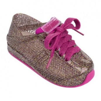 LOVE SYSTEM pink flat sneaker sneakers for baby