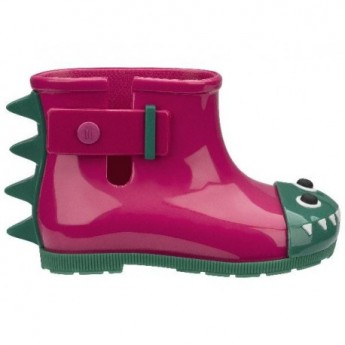 MINI MELISSA BE BB 51493 PINK GREEN-ROSA VERDE