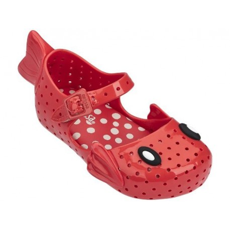 FURADINHA + FABULA red flat closed ballet flats for baby