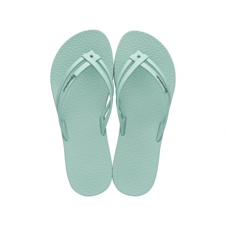 MAIS TIRAS green flat finger flip flops for woman