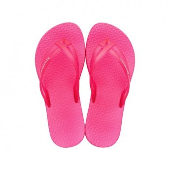 MAIS TIRAS pink flat finger flip flops for child