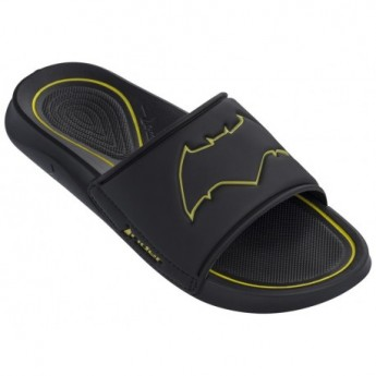 LIGA DA JUSTICA black flat shovel flip flops for man