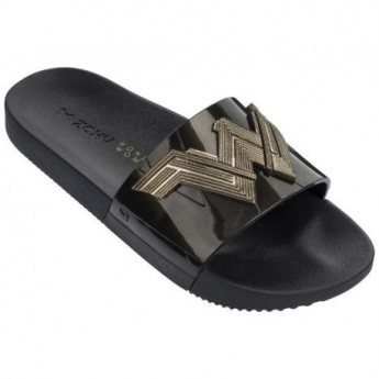 ZAXY WONDER WOMAN SLIDE FEM 90582 METALIC GOLD